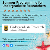2020 Summer Undergraduate Research and Creative Achievements Forum