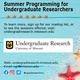 2020 Summer Undergraduate Research and Creative Achievements Forum