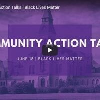 Community Action Talks: Black Lives Matter
