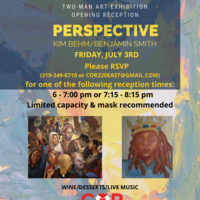 """Opening Reception """"Perspective"""" Two-Man Art Exhibition"""