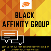 UTEP Black Affinity Group: First General Body Meeting