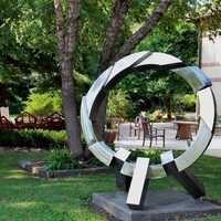 Garden Walk in the Hearst Sculpture Garden