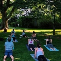 Yoga on the Village Green