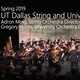 Encore Performance: UT Dallas String Orchestra and University Orchestra from May 5, 2019