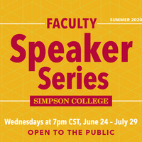 Summer Faculty Speaker Series