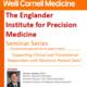 The Englander Institute for Precision Medicine Seminar Series