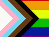 LGBTQ+ Progress Flag
