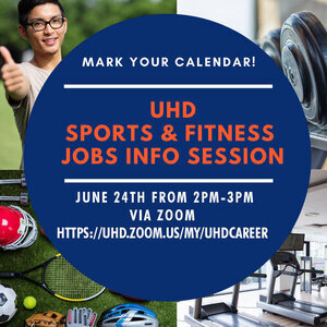 Learn about student jobs available with UHD Sports & Fitness!