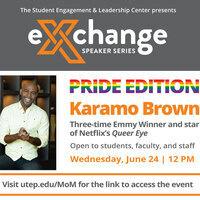 SELC's Orange Exchange with Queer Eye's Karamo Brown