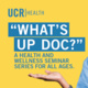 What's Up Doc - Parkinson's Disease