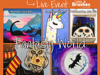 "$150 Virtual Kid's Camp ""Fantasy World"" Theme!"