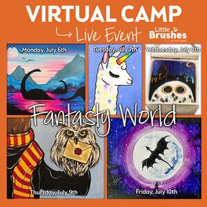 "$150 Virtual Kid's Camp ""Fantasy World"" Theme!"