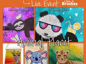 "$150 Virtual Kid's Camp ""Animal Planet"" Theme"
