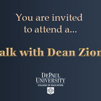 COE Students: A Talk with Dean Zionts