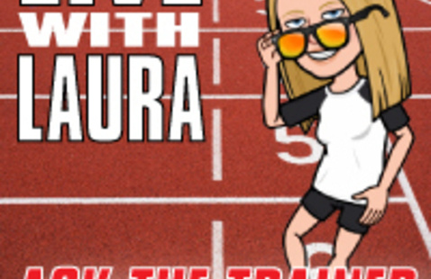 Live with Laura: Ask the Trainer on Instagram Live