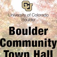 Boulder Community Town Hall