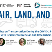 By Air, Land and Sea: insights on transportation during the Covid-19 crisis
