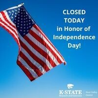Independence Day Closed