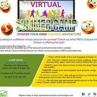 Summer Arts Camp: Choose Your Own Summer Adventure!