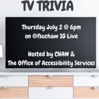 TV Trivia with CHAW & Office of Accessibility Services