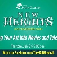New Heights Artist Development Series - Getting Your Art into Movies and TV
