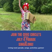 July 4 Parade and Singalong (Virtual!)