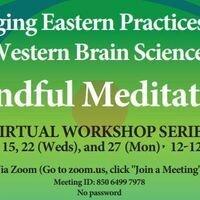 Registration Open: Mindful Meditation Virtual Workshop Series: July 8 to July 27