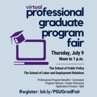 Virtual Professional Graduate Program Fair