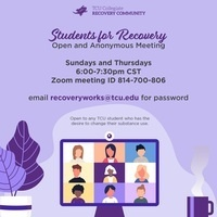Students for Recovery infographic