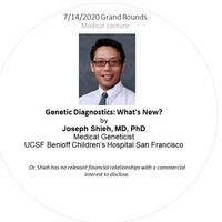 Grand Rounds   Genetic Diagnostics: What's New?