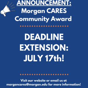 Community Award Application Deadline: EXTENDED!