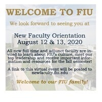 New Faculty Orientation Kick Off