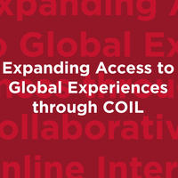 Expanding Access to Global Experiences through Collaborative Online International Learning