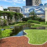 Rooftop Garden by Burle Marx