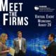 Meet the Firms Virtual Event