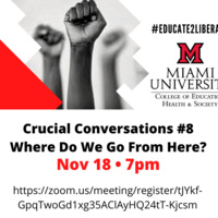 Crucial Conversations #8 - Where Do We Go From Here?