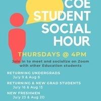 COE Student Social Hour