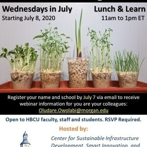 GeoAg HBCU 4-Week Virtual Summer Training Series (Lunch & Learn)