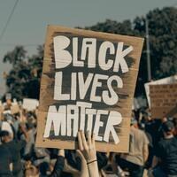 Black Lives Matter; Photo Credit: Visuals by Charles Deluvio
