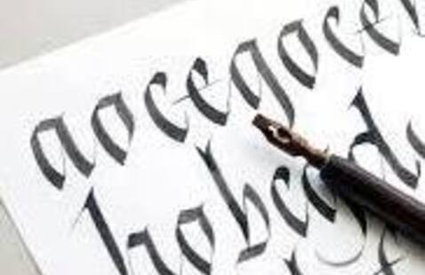 Activity Night with Campus Rec-Learn Basic Calligraphy
