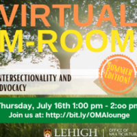 Virtual M-Room: Intersectionality and Advocacy