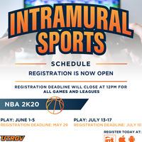 Intamural Sports: E-Sports NBA 2K20 League
