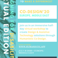 Humanistic Co-Design Workshop: Europe/Middle East/Africa