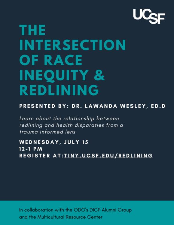 Jul 15, 2020: Webinar: The Intersection of Race Inequity & Redlining
