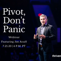 Pivot…Don't Panic! With New York Times Bestselling Author, Jon Acuff