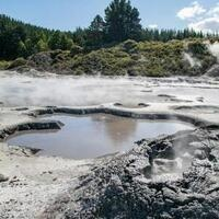 Hell's Gate Hot Springs, New Zealand