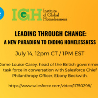 Leading through Change: A New Paradigm to Ending Homelessness