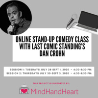 Online Stand-Up Comedy Class with Last Comic Standing's Dan Crohn