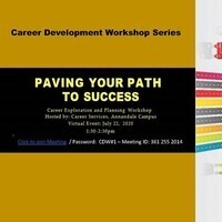 Career Exploration Workshop: Paving your Path to Success