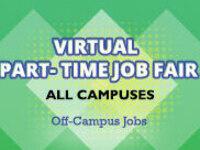 Virtual Part-Time Job Fair - All Campuses